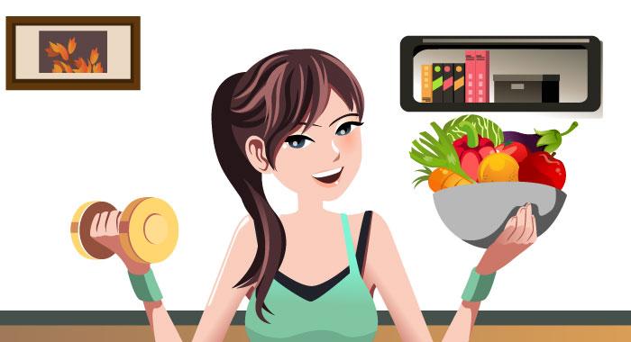 やせる為の栄養を勉強