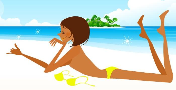 水着になる日まであと少し、短期集中お腹痩せエクササイズダイエット