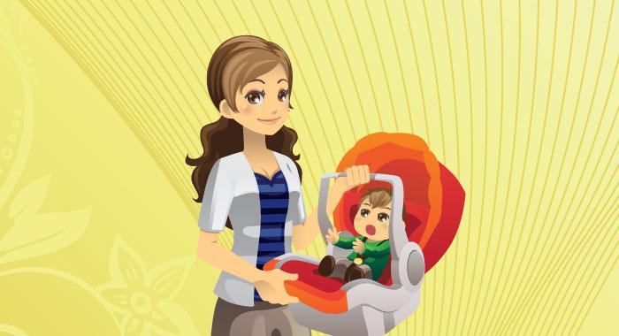 産後ダイエットを兼ねて、母乳育児で密接な母子関係も同時にゲット!