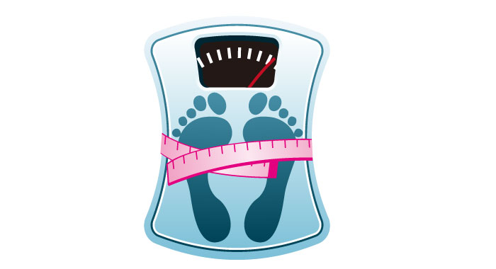 いつも心に体重計!常に自分の体重を意識して!