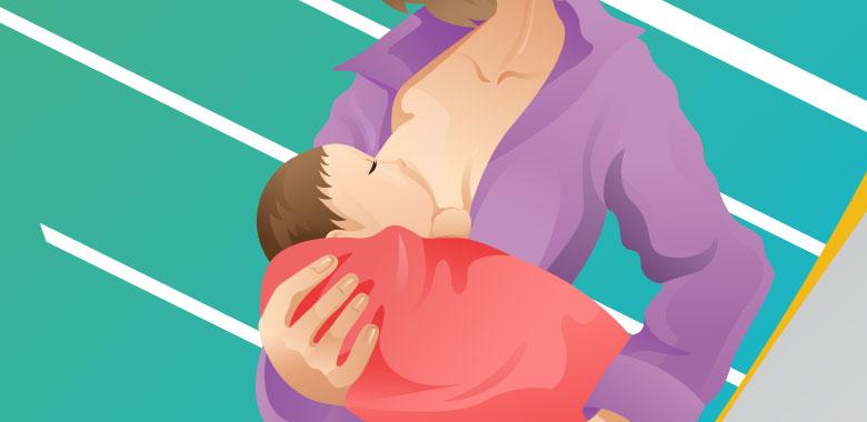 母乳育児の方が痩せやすい?産後の体重戻しは6か月までが勝負!