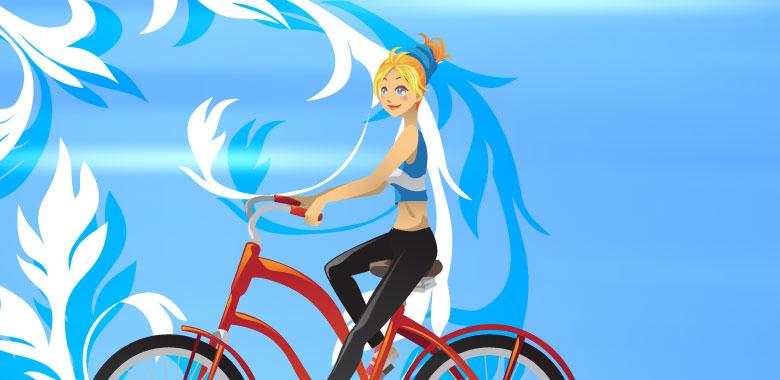 体を動かして痩せるにはサイクリングをおススメなワケ、続けなければ痩せらねない。