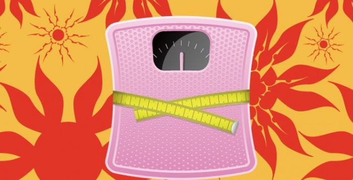 スーパーモデルのような体型になるためには体重計の活用がポイント!