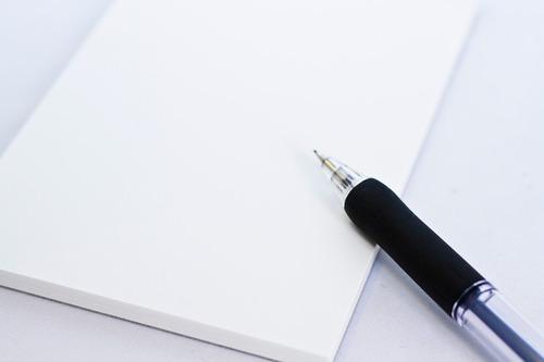 自分の一日の行動を書いてみましょう。