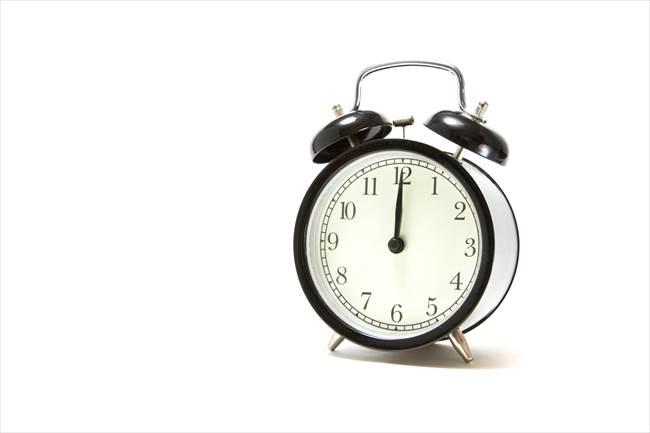 睡眠時間のコントロール